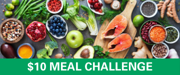 $10 meal challenge