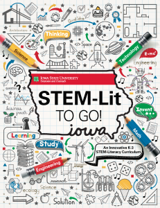 STEM Lit to Go! Cover