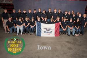 Iowa Shooting Sports Team at National Championship