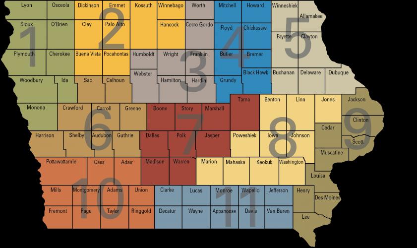 crops team territory map