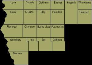 ag eng regionl 1 map