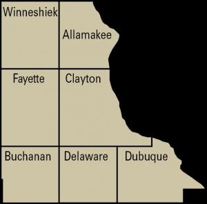 crops region 5 map
