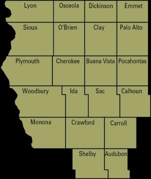 swine region 1 map