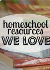 homeschool resource sign