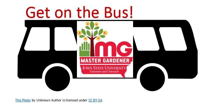 Get on The Bus with Master Gardeners
