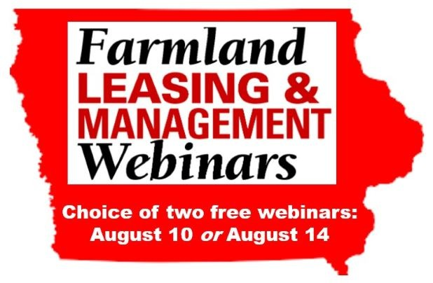Farmland leasing & management webinars