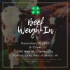 Beef weigh in postcard
