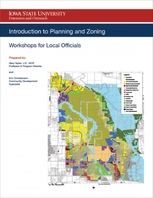 Cover of the Intro to Planning and Zoning Workbook