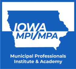 """MPI/MPA logo with text """"Municipal Professionals Institute and Academy"""