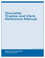 Township Trustee and Clerk Reference Manual