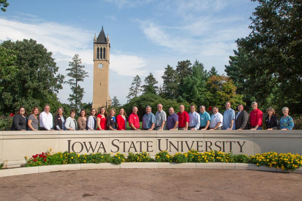 2019 regional director group ISU Extension and Outreach