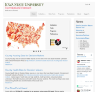 ISU Extension and Outreach Indicators Portal