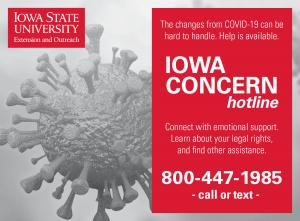 Iowa Concern Hotline