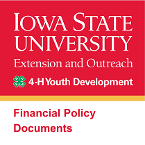 Iowa State University Logo for 4-H Youth Development