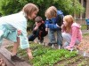 Picture of kids gardening