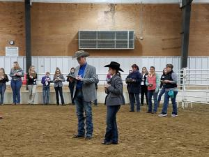 Iowa 4-H Horse Judging Contest