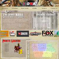 Welcome to the Iowa National Barrel Horse Association
