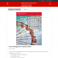 Event Management Training Toolkit