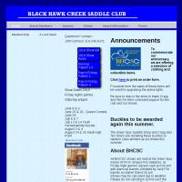 Black Hawk Creek Saddle Club