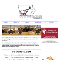 Iowa Cutting Horse Association home