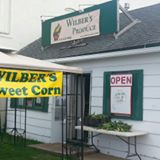 wilber's sweet corn stand.