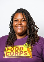 DM FoodCorps service member Jenetta Hargrove Is working for equity