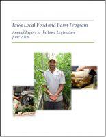 2016 Local Food and Farm Program report to legislature highlights successes