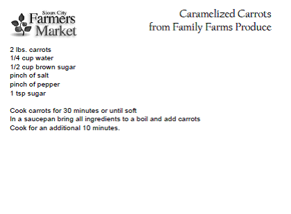 Carmelized Carrots