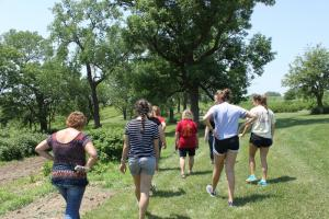 Touring Eden Valley Apple Orchard