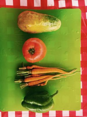 vegetables for food demo