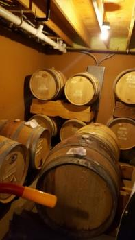 Where the wine is aged
