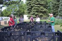 Tour of Community Garden