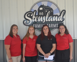 Interns at Stensland