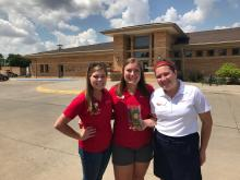 Interns at Sioux Center Library