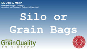 Silo or grain bag banner