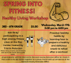 Healthy Living Workshop Flyer