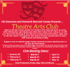 Theater Arts club flyer image