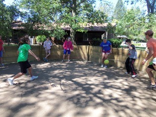 GaGa Ball At Camp