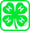 4-H Boxed Clover