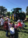 Students Visiting Tractor Safety Session