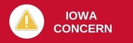 Iowa Concern Button