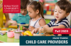 childcare provider training flyer