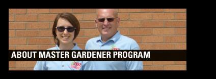 Denny Schrock and Susan DeBlieck coordinate the state-wide Master Gardener program