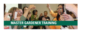 Master Gardener trainees at the Class on Campus