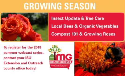 Growing Season 2018 Summer Webcast Series