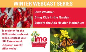 Iowa Weather, Bring Kids in the Garden, Explore the Ada Hayden Herbarium