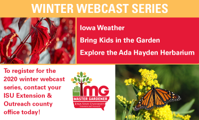 Iowa Weather, Bring Kids in the Garden, Explore the Ada Hayden Herbarium