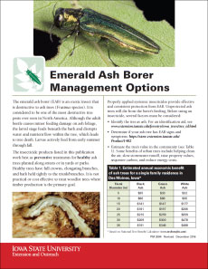 Emerald Ash Borer Publication