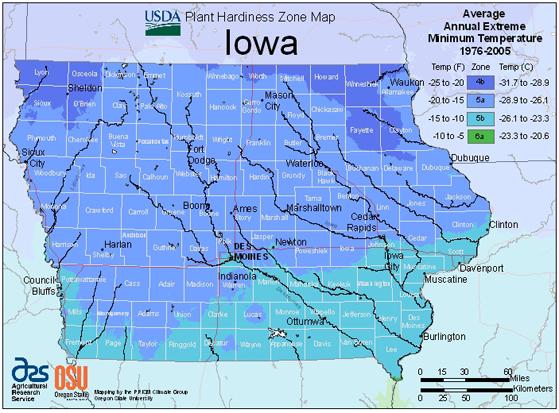 New plant hardiness zone map has iowa in zone 5 news iowa map publicscrutiny Gallery