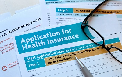 Application for health insurance by Annap/stock.adobe.com.